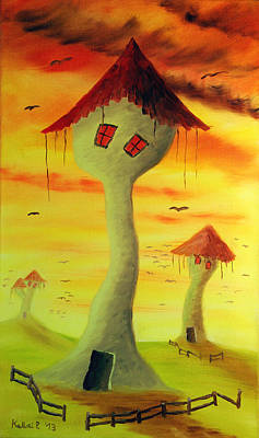 Painting - Jarduli's Dreamland by Peter Kallai