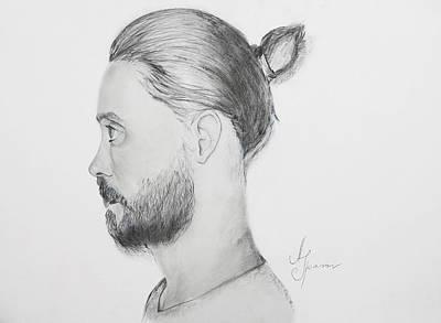 Jared Leto Painting - Jared  by Adam  Spasov
