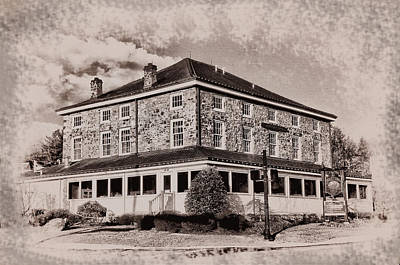 Jarrettown Hotel - Upper Dublin Pa. Art Print by Bill Cannon