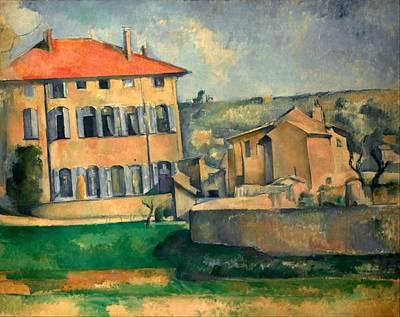 Czech Republic Painting - Jas De Bouffan by Paul Cezanne