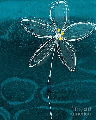Shark Art - Jasmine Flower by Linda Woods