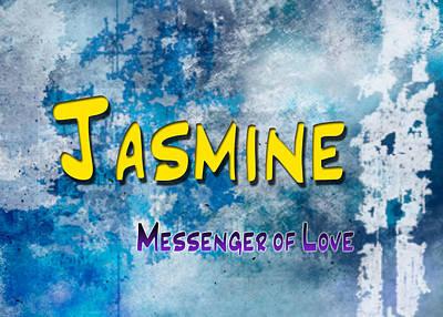 Jasmine - Messenger Of Love Art Print by Christopher Gaston