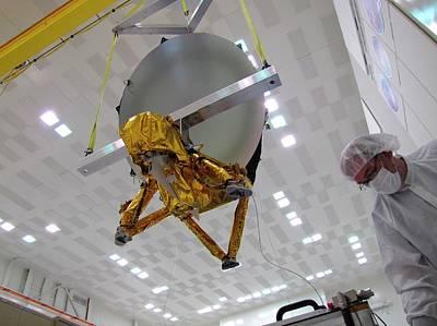 Astronautical Engineering Photograph - Jason-3 Satellite Construction by Nasa/jpl-caltech