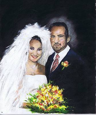 Painting - Jason And Lisa by Jerry Bates