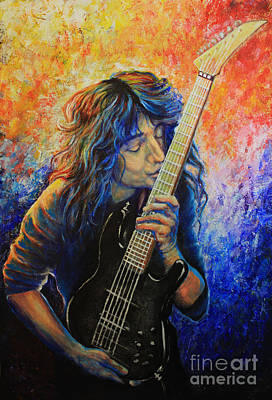 Jason Becker Art Print by Tylir Wisdom