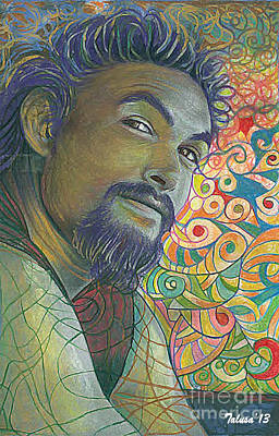 Tonga Digital Art - Jason Momoa 2 by Teleita Alusa