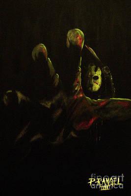 Horror Painting - Jason  by Phillip Rangel
