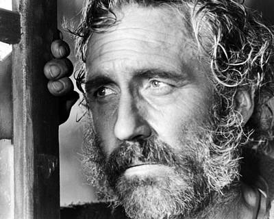 1960 Photograph - Jason Robards In C'era Una Volta Il West  by Silver Screen