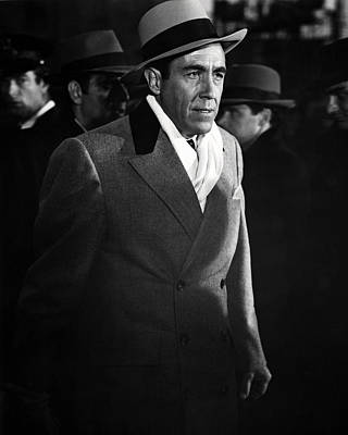 Jason Robards In The St. Valentine's Day Massacre  Art Print by Silver Screen