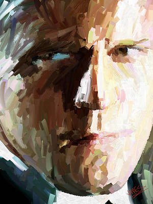 Jason Statham Art Print by James Shepherd