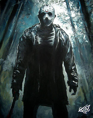 Tom Carlton Painting - Jason by Tom Carlton