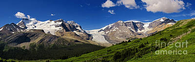 Photograph - Jasper - Columbia Icefields Panorama by Terry Elniski