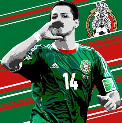 Case Photograph - Javier Hernandez Mexico Print by Pro Prints