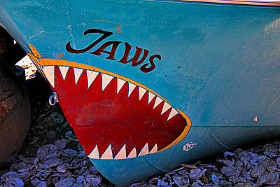 Photograph - Jaws Boat Bow by Garry Gay