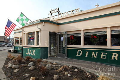 Jax Truckee Diner Truckee California 5d27506 Art Print by Wingsdomain Art and Photography