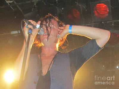 Photograph - Jay Buchanan Rival Sons by Jeepee Aero