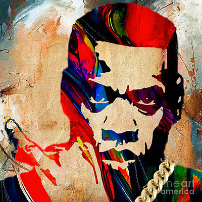 Celebrities Mixed Media - Jay Z Collection by Marvin Blaine