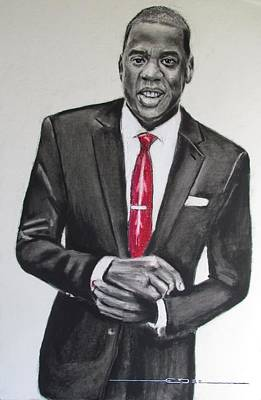Jay Z Wall Art - Drawing - Jay Z by Eric Dee