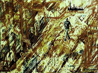 Jay Z Painting - Jay-z In N.y.c. by Paul Roe