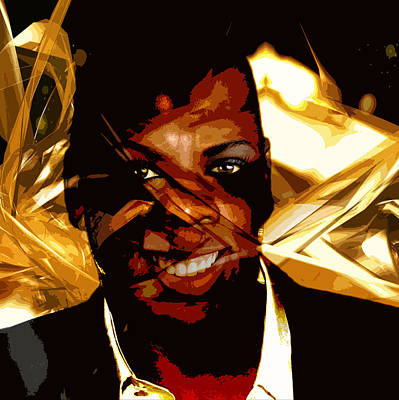 Jay Z Digital Art - Jay-z Knowles by Jean raphael Fischer