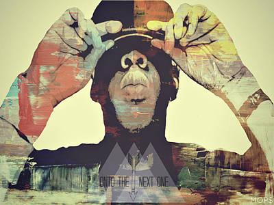 Jay Z Digital Art - Jayz by Jessica Echevarria