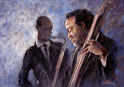 Painting - Jazz 02 by Miki De Goodaboom