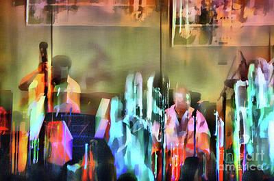 Jazz Band Art Print by Jeff Breiman