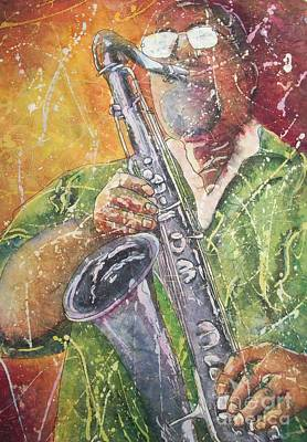 Painting - Jazz Bliss by Carol Losinski Naylor