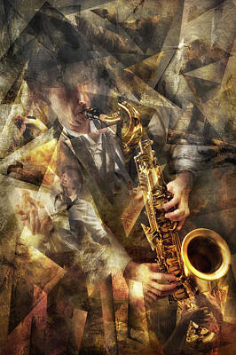 Brass Wall Art - Photograph - Jazz by Christophe Kiciak