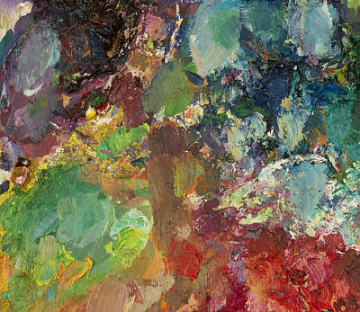 Abstract Expressionism Painting - Jazz Garden by David Lloyd Glover