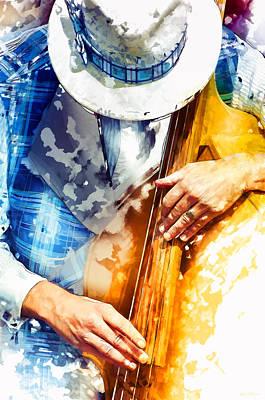 Jazzman Photograph - Jazzman At His Craft by Carter Jones