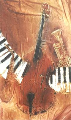 Painting - Jazz by Hazel Millington