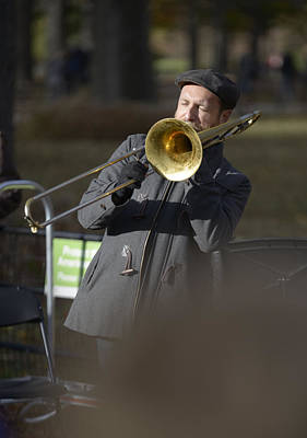 Soap Suds - Jazz in Central Park 1 by David Berg