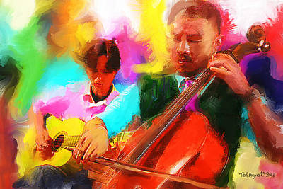 Jazz It Up  Art Print