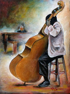 Painting - Jazz Jam by Ka-Son Reeves