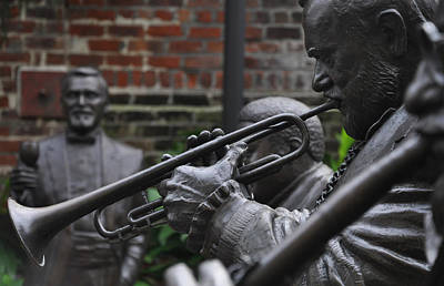 Nola Digital Art - Jazz Legends Al Hirt And Pete Fountain - New Orleans by Bill Cannon