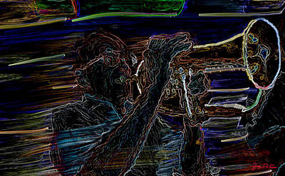 Jazz Man Jack Art Print
