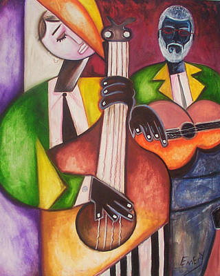 Jazz Men Art Print by Emery Franklin