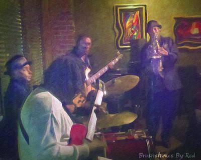 Painting - Jazz Night by Melody McBride