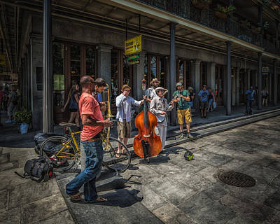Photograph - Jazz On Jackson Square New Orleans by Erwin Spinner