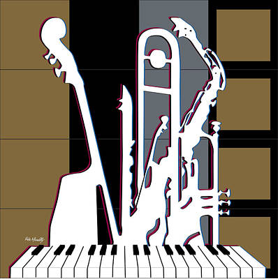 Jazz Poster Original by Roby Marelly