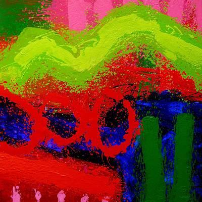 Inspirational Painting - Jazz Process I by John  Nolan