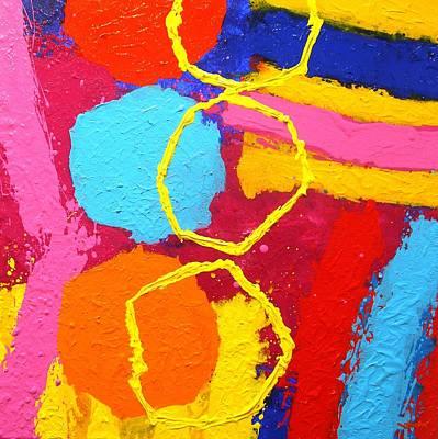 Jazz Process IIi Art Print by John  Nolan