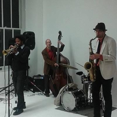 Jazz Photograph - Jazz Quartet #jazz #musicians by Christopher M Moll