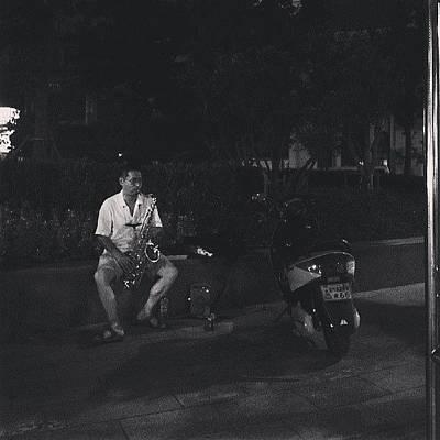 Jazz Photograph - Jazz在哪里? #shanghai #jazz #night by C C