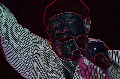 Jazz Singer Original by Harold Butch Crawford
