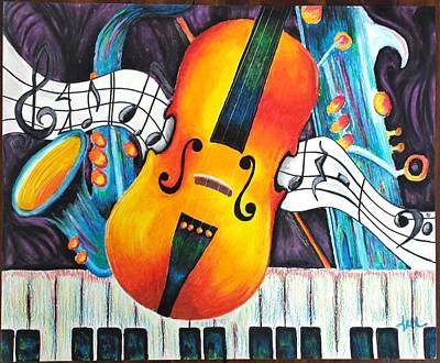 Jazz Sonata Original by Ann Marie Lander