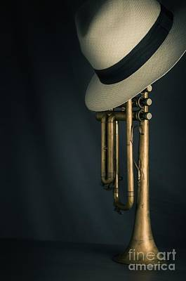 Dark Roots Photograph - Jazz Trumpet by Carlos Caetano