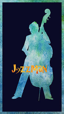 Jazz Digital Art - Jazzman by Jenny Armitage