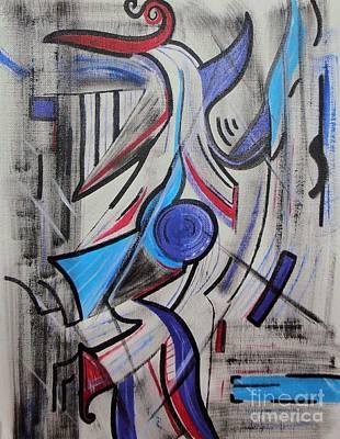Jazzy Feeling Art Print